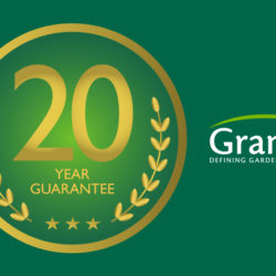 20 year guarantee and Grange logo