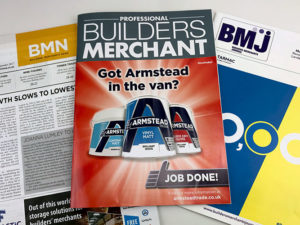 Is your PR agency a specialist in the built environment and builders' merchants?