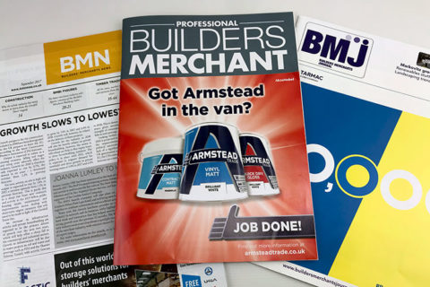 a selection of building trade journals