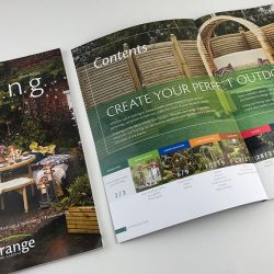 grange product brochure 2018 Front cover and contents page