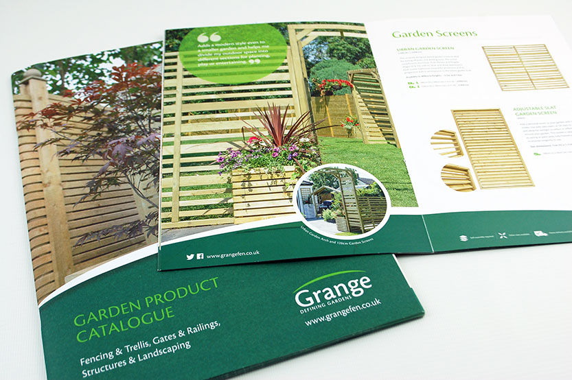 Grange product catalogues