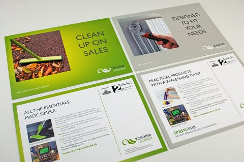 Marketing support collateral for Creative Products