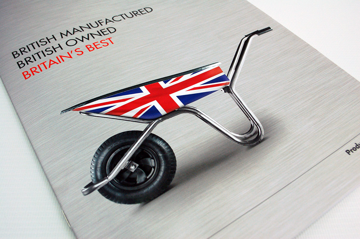 The Walsall Wheelbarow Company product catalogue front cover