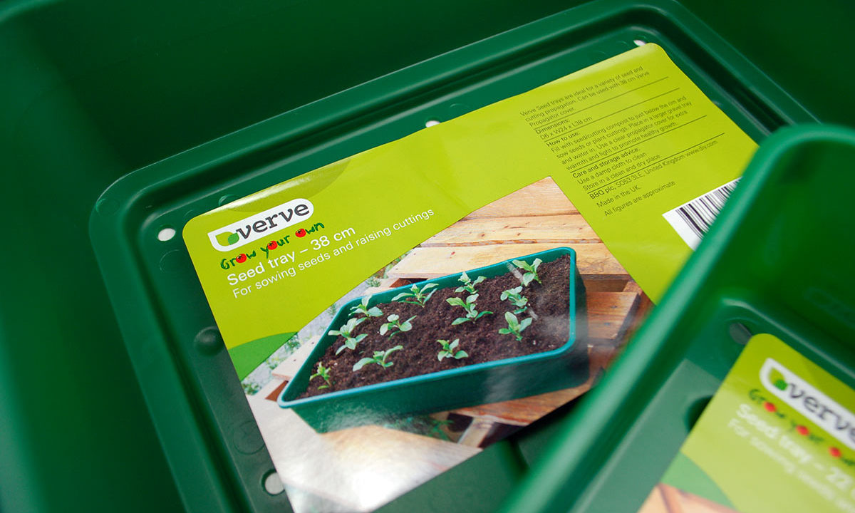 Verve Grow your own seed tray 38 cm