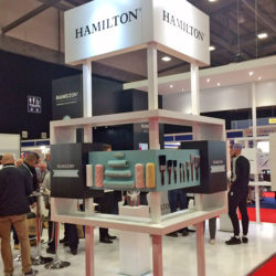 Hamilton at painting and decorating show