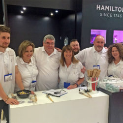 Hamilton team at painting and decorating show