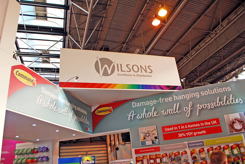 Wilsons exhibition graphics Spring Fair 2017