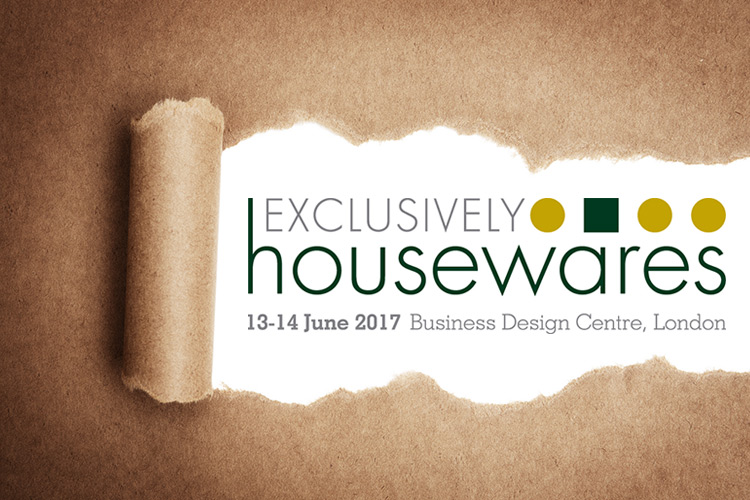 Sneek peek at Exclusively housewares 2017 logo