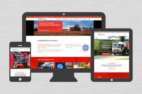 BD Fuels responsive website design