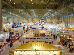On the road at exhibitions and events