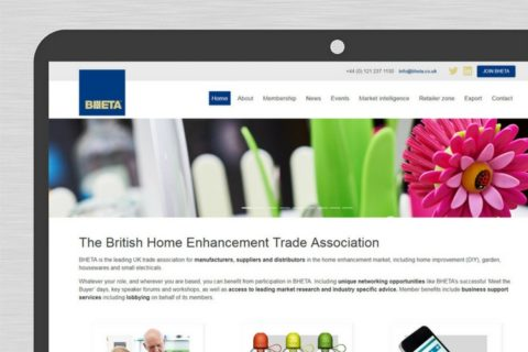 Bheta new website homepage