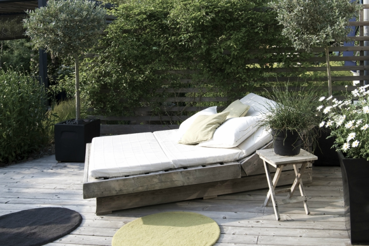 Scandi-style is set to be one of the key garden trends for 2018