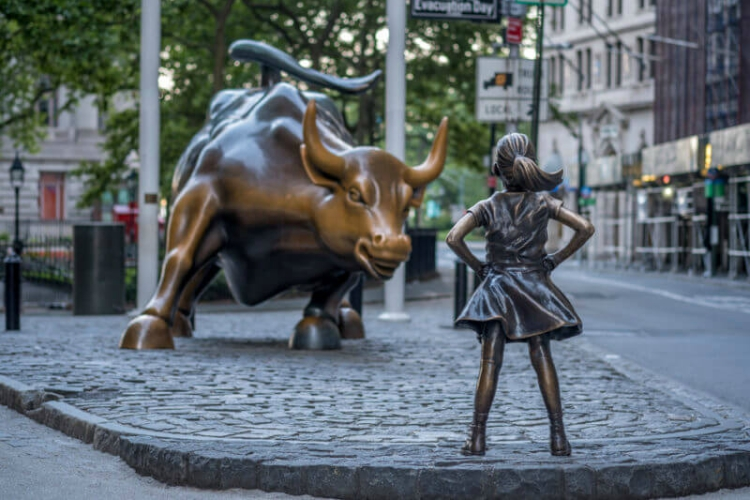 Top PR stunts of 2017 - State Street's Fearless Girl statue