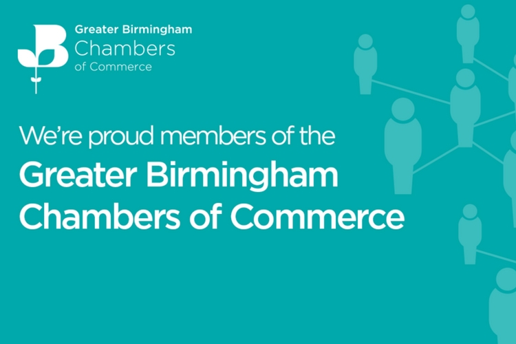 Proud member of Greater Birmingham Chambers of Commerce