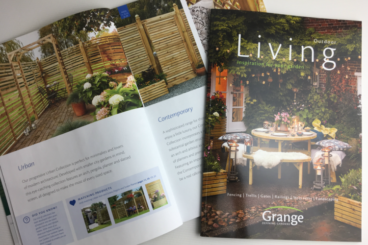 Brand new brochure for Grange Fencing