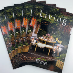 Grange product catalogues fanned out