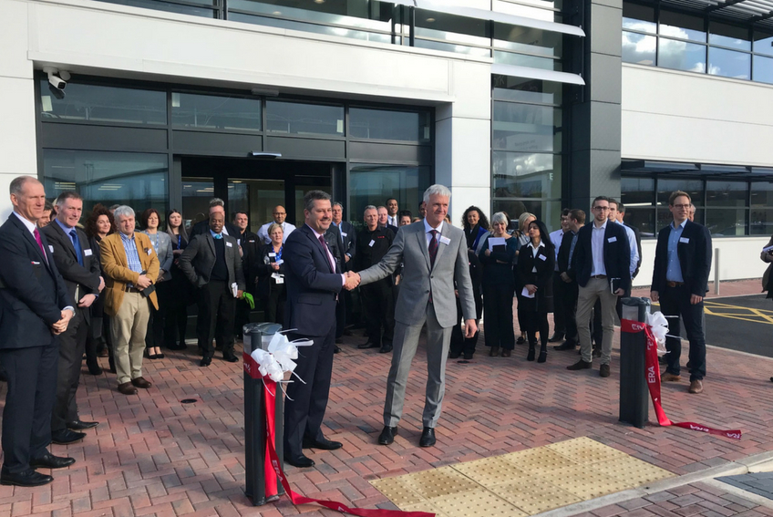 Ribbon cutting at ERA new HQ launch