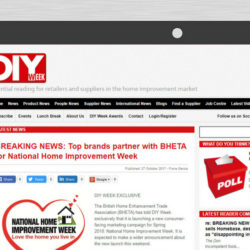 National Home Improvement Week online coverage