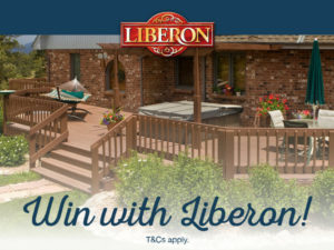 Don't miss your chance to win with Liberon!