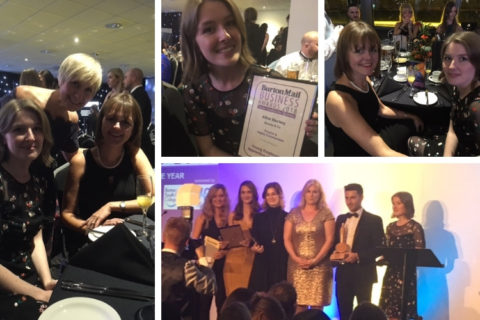 Brookes & Co at the Burton Mail Business Awards 2018