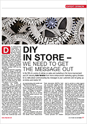 Insight article DIY Week 26 October 18