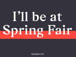 Brookes & Co count down to Spring Fair