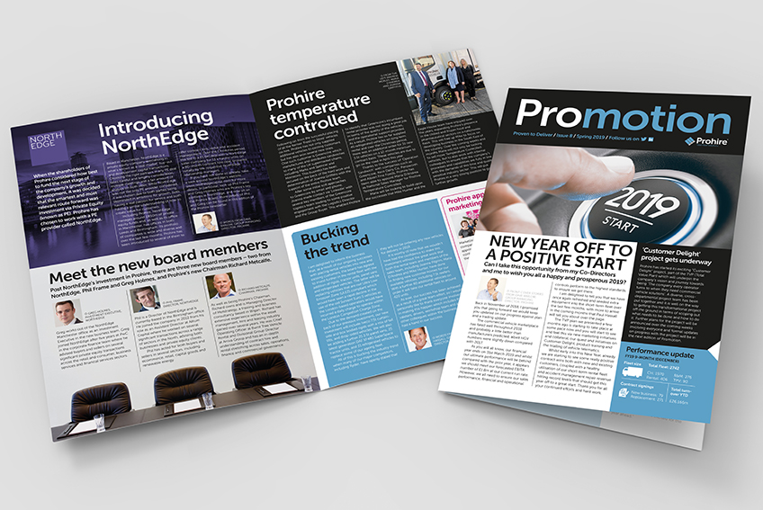 Prohire company newsletter