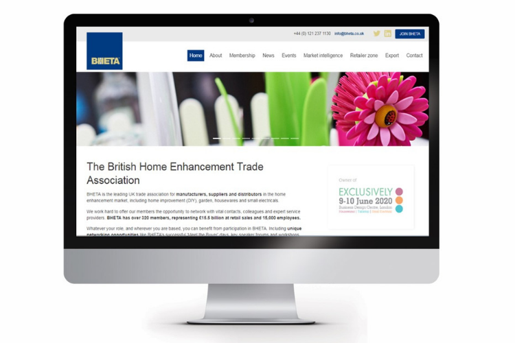 BHETA new website home page